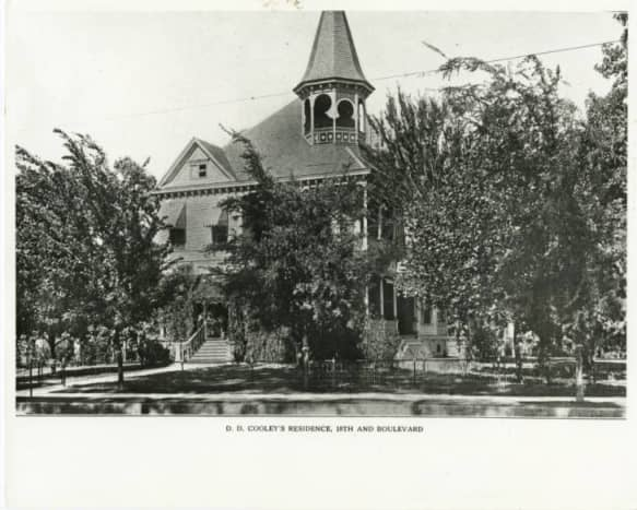 Daniel Denton Cooley house and garden, 1802 Heights Boulevard, Houston, TX 77008