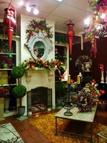 Holiday decor at Cornelius Nursery