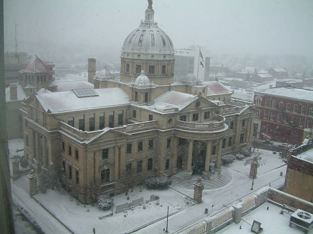 Washington County Historic Records: County Court House.