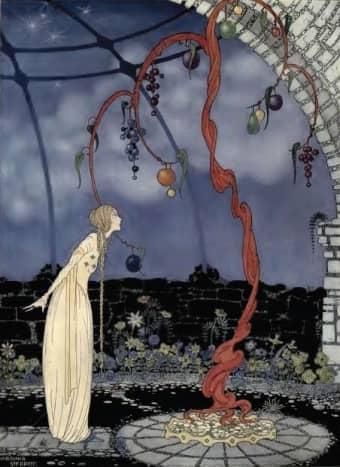 Rosalie, illustration by Virginia Frances Sterrett
