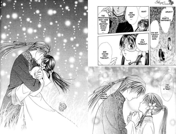 Chapter 14. Uruki finally confessed to Takiko but their love seems to be still in a great trouble.