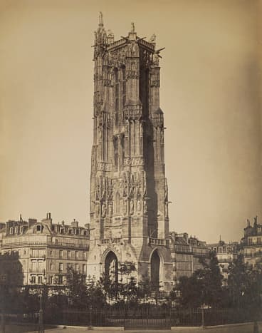 Gustave Le Gray, The Tour St-Jacques, 1859.  The depth and texture that these images exhibit is incredible.