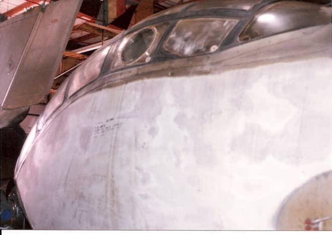 The Ju 388 at the Paul E. Garber Facility, Silver Hill, MD, May 1998.