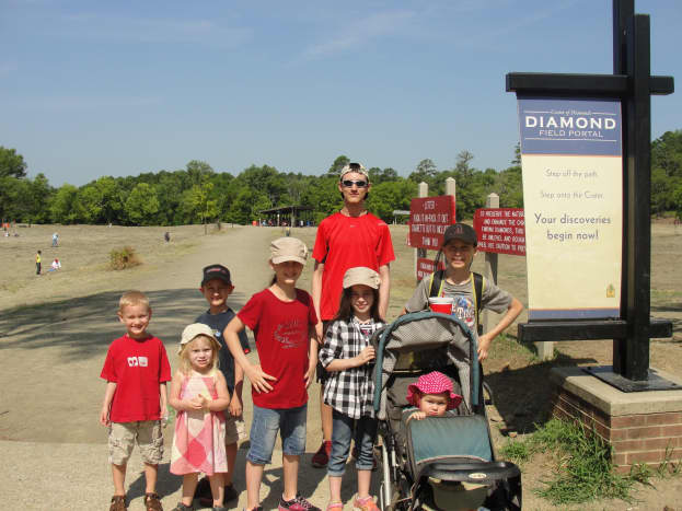 After our second night of camping, the highly anticipated day finally arrived. Most of my kids were looking forward to Crater of Diamonds State Park in Arkansas more than they were the Grand Canyon. They were disappointed.