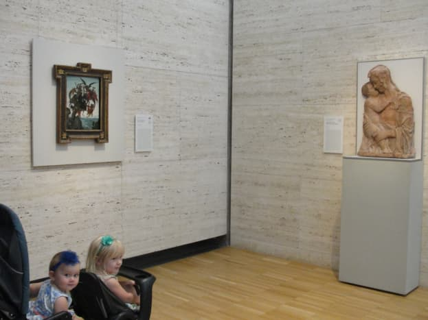 We started the morning at the Kimbell Art Museum and were amazed to see such prestigious works by Michelangelo, Donatello, Fra Angelico, Francisco de Goya, Caravaggio, Monet, and a number of other prized artists.