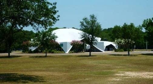 View of pavilion