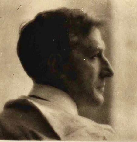 Baron Alexander von Meyer - my father - photo by Adolphe de Meyer (his cousin)