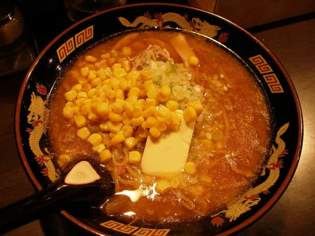This is a spicy combination with corn and butter