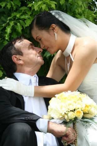 Their wedding photos