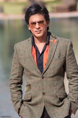 The stylish Shah Rukh Khan at the Marrakech International Film Festival