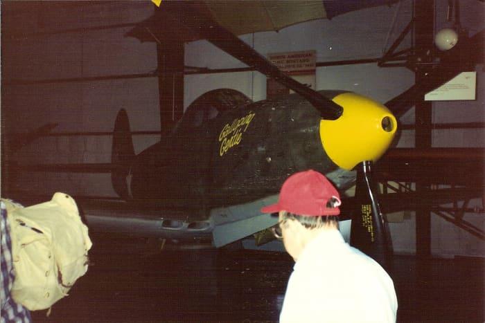 The P-39 âGalloping Gertieâ at the Paul E. Garber Facility, circa 1990.