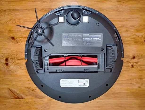 Bottom of robotic vacuum