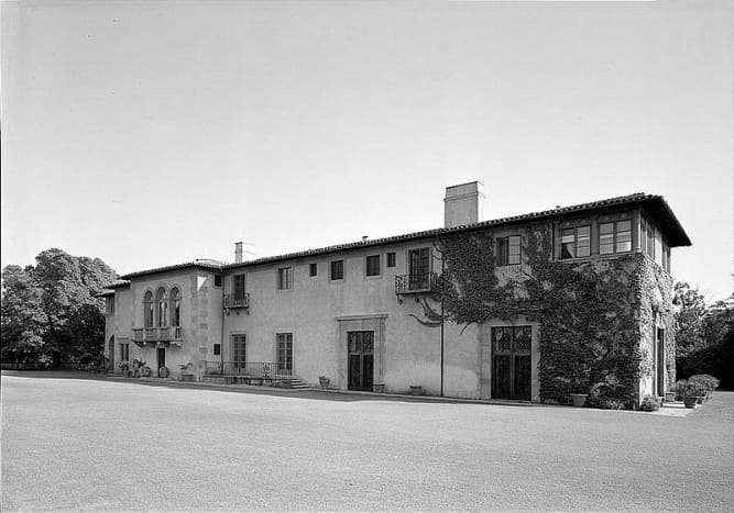 National Record of Historic Places: Harold Lloyd House, Greenacres.