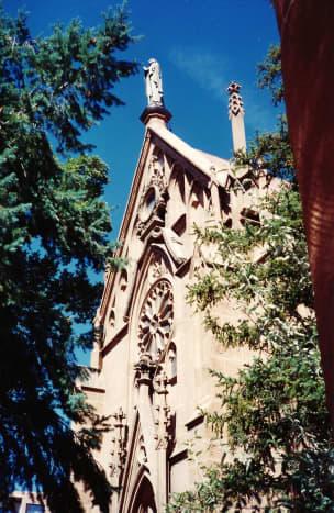 Loretto Chapel in Santa Fe, New Mexico