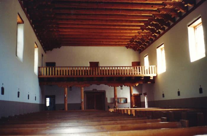 Inside of Cristo Rey Church