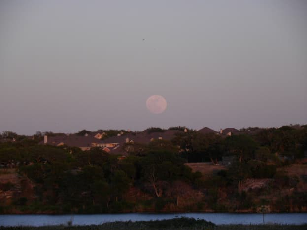 Sunset at Brushy Creek Park, Cedar Park Texas