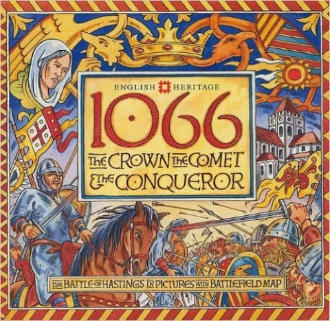 1066: The Crown, the Comet and the Conqueror by David Hobbs - All book images are from amazon .com.
