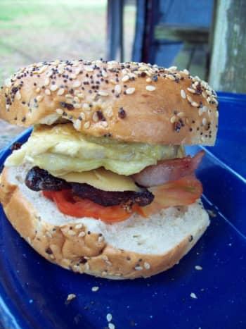 Enjoy a protein-filled scrumptious breakfast.