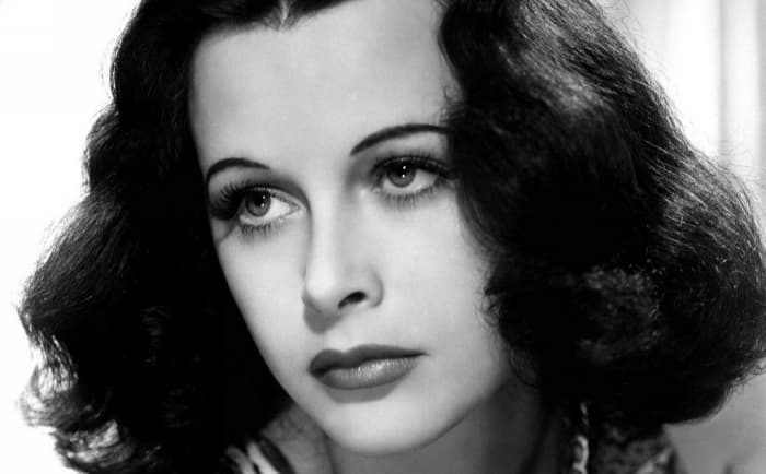 This brainy bombshell was a golden-age Tinsel Town actress, mathematician, and inventor. You like your Wi-fi and  Bluetooth? You have Hedy Lamarr to thank.