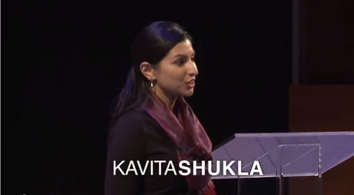 """A practical Genius, Kavita Shulka has the curiosity that is a hallmark of genius.  From an """"old wives home recipe"""" she extrapolated discoveries to really help solve world hunger. So what did you do in high school?"""