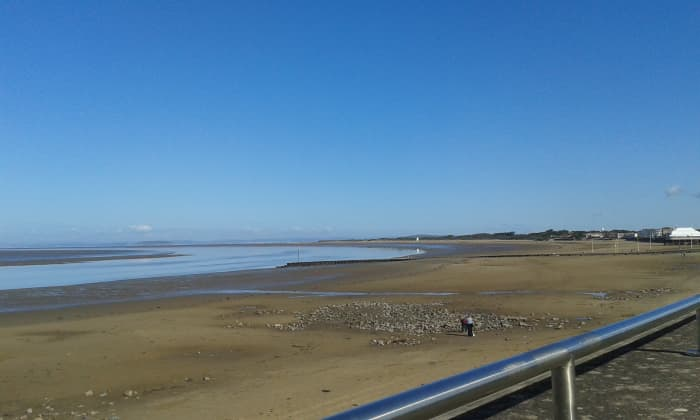 All the way to Brean Down - the Beaches are Great but Beware the Sinking Mud at Low Tide