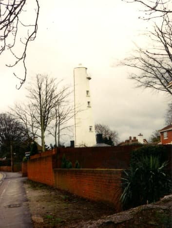 the High Light from the Burnham-on-Sea to Brean main road