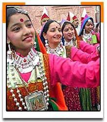 Women dancing During a Festival