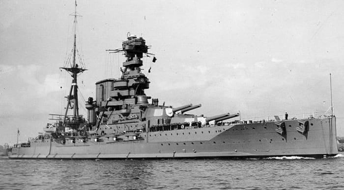 The HMS Barham
