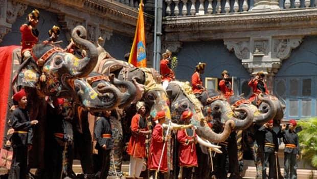 Holy Indian Elephants