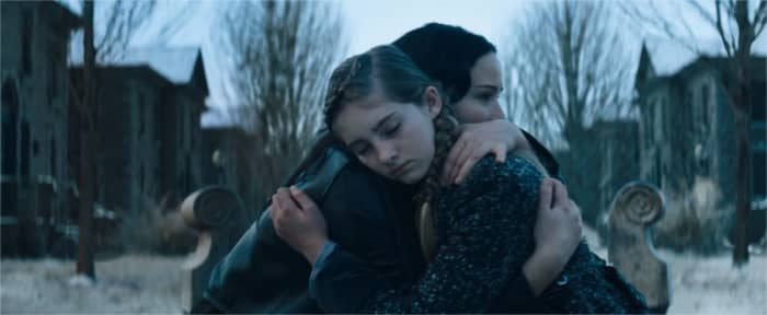 The Hunger Games: Catching Fire. Katniss and Prim