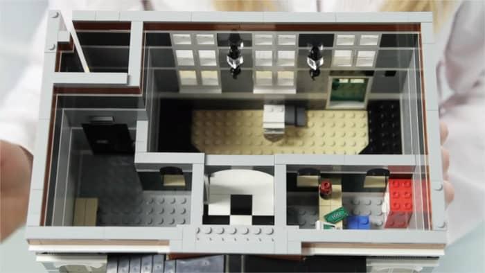 LEGO Creator Town Hall Modular Building   The first floor