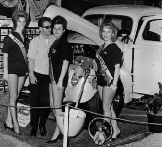 House of Wheels car show 1961 Oakland, California