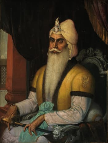 Sotheby's To Auction Sardar Sobha Singh Painting of Maharajah Ranjit Singh in New York
