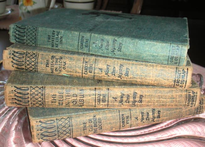 Original Nancy Drew Mysteries