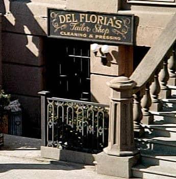 The Del Floria secret entrance in NY city