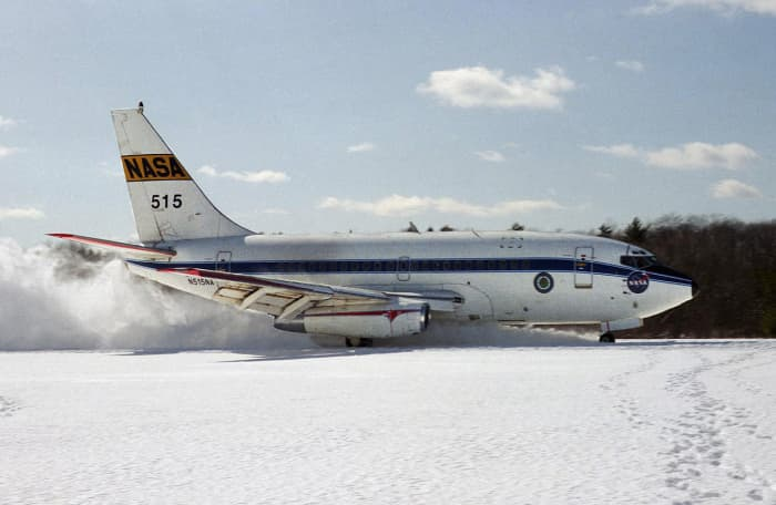 Narrow Body Airliners: This one was tested in 1986.