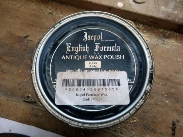 The beeswax polish I use on all my DIY projects.