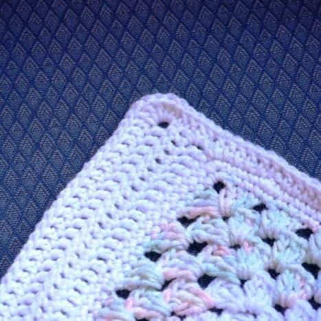Simple Double Crochet Border