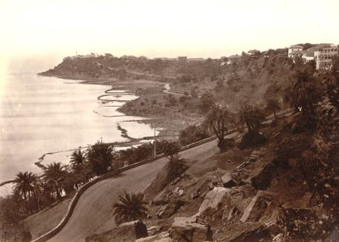 a view from malabar hill in 1860's