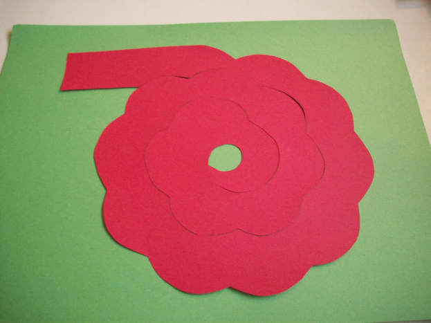STEP 1 - How to Make Paper Roses