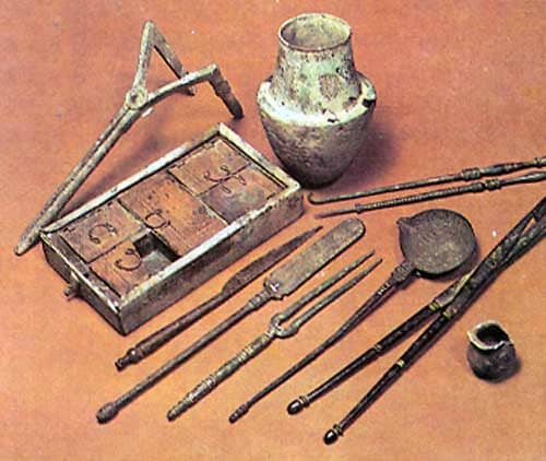 Ancient Greek  Surgical Instruments
