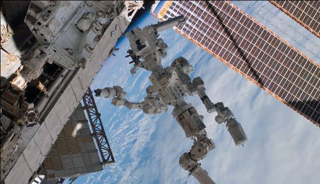 International Space Agency's Robotic Arm