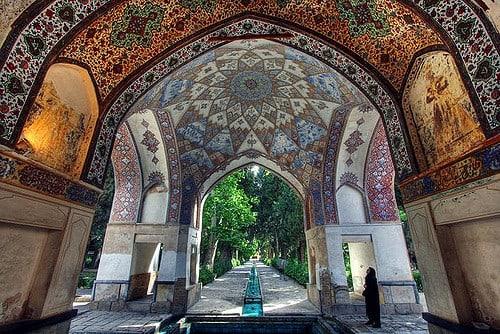 Part of Fin Garden, Iran