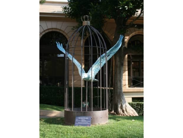 """""""An eagle in a cage"""" by Sylvie Briere"""
