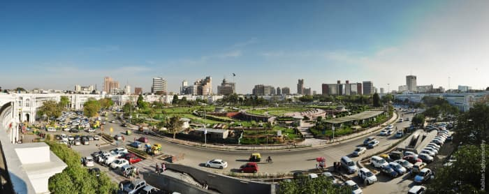 skyline at connaught place