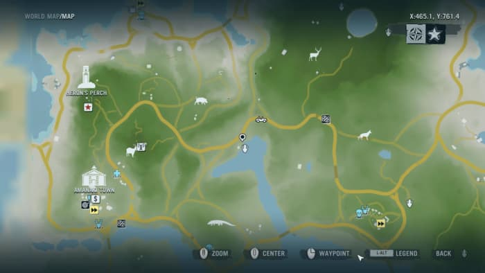 Archaeology 101 - Gameplay 01 Map: Far Cry 3 Relic 53, Shark 23.