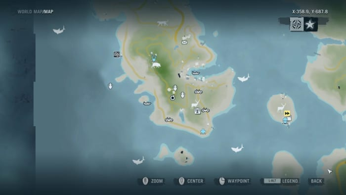 Archaeology 101 - Gameplay 01 Map: Far Cry 3 Relic 112, Heron 22.