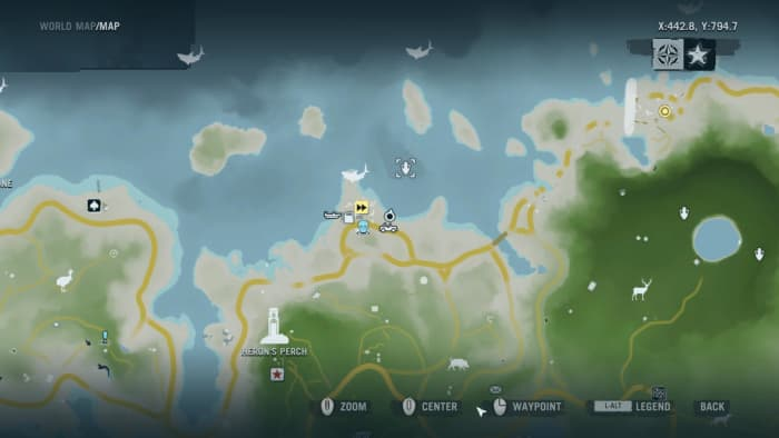 Archaeology 101 - Gameplay 01 Map: Far Cry 3 Relic 34, Shark 4.