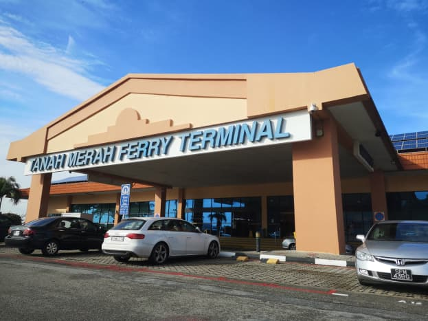 Tanah Merah Ferry Terminal Singapore