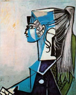 """Picasso's """"Girl With a Ponytail"""""""